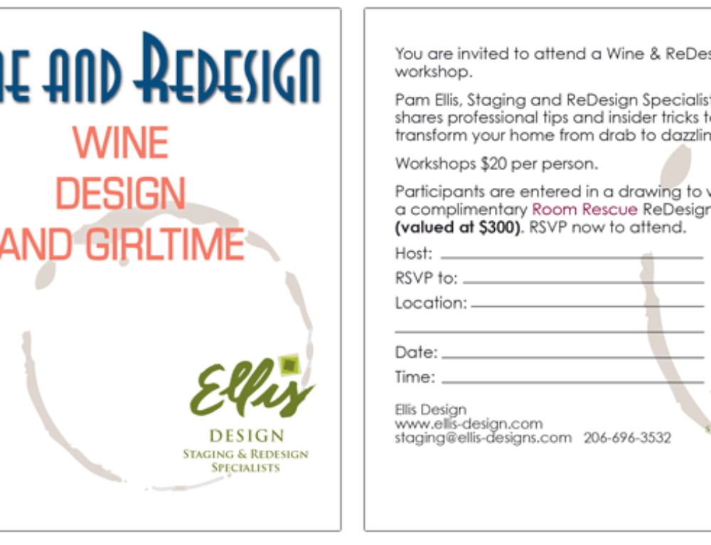 Ellis Design, Staging & ReDesign
