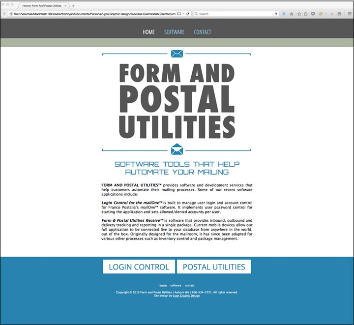 Form and Postal Utilities