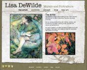 Lisa DeWilde Mural and PortraitArtist