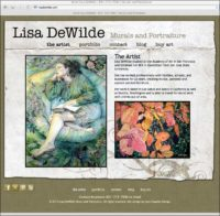 Lisa DeWilde Mural and PortraitArtist
